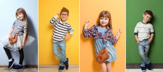 Vêtements pour enfants à la mode