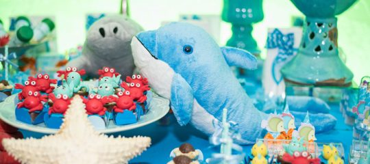 Peluches animaux marins pas cher